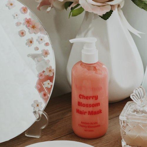 ماسک موی حمام شکوفه گیلاس