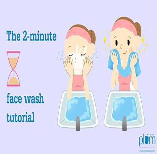 آموزشهای دو دقیقهای: شستن درست صورت